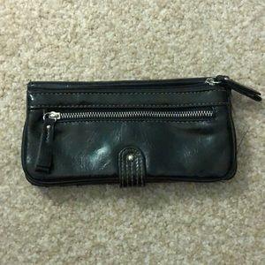 Handbags - Black leather wallet